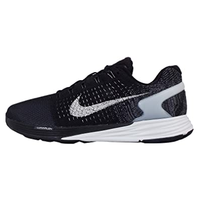 5fb36a3d81ef Nike Women s Lunarglide 7 Flash Running Shoes Black 803567-001 ...