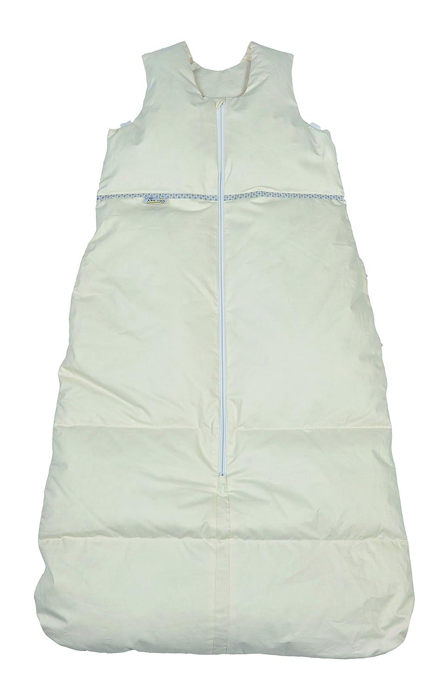 Aro Artlä nder 87533 –  Saco de dormir, longitud ajustable, cremallera central, tamañ o 110 –  90 cm, color crema/beige tamaño 110-90cm ARO Artländer