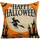 Pillow Case,Beautyvan Halloween Sofa Bed Home Decor Pillow Case Cushion Cover (D)