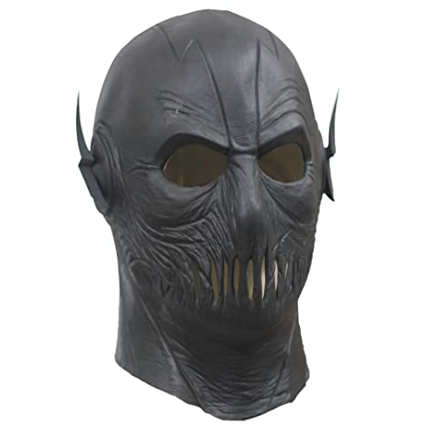 New Zoom Mask With Zipper Helmet Full Head The Flash season 2 Cosplay Halloween Prop  sc 1 st  Amazon.com & Amazon.com: New Zoom Mask With Zipper Helmet Full Head The Flash ...