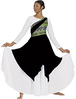 Eurotard 63567 Adult Joyful Praise Asymmetrical Tunic