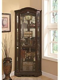 Coaster Company Of America Clarksdale Corner Curio Cabinet