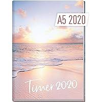 Chäff-Timer Classic A5 Kalender 2020 [Traumstrand] Terminplaner 12 Monate: Jan bis Dez | Wochenkalender, Organizer, Terminkalender mit Wochenplaner - Top organisiert durchs Jahr!