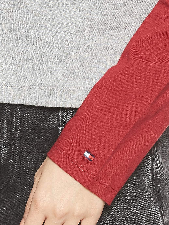 Tommy Hilfiger LS tee Slogan Top de Pijama para Mujer