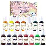 15 Color Resin Pigment ,Resin Dye Resin Color Translucent Epoxy Resin Color Pigment for Resin Jewelry DIY Crafts Art Making-0