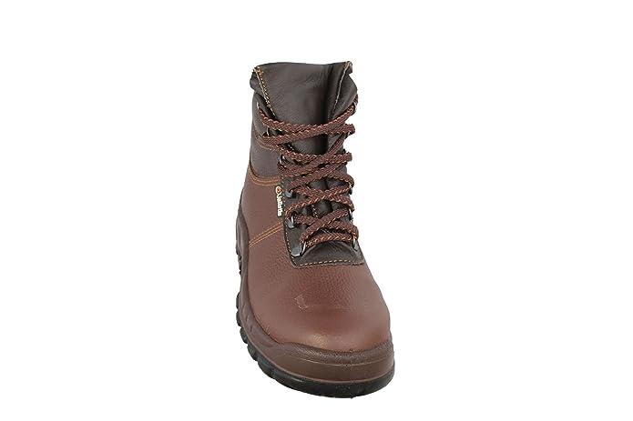 jallatte jalvalkan SAS S3Src bauschuhe Abeba–Zapatos de color marrón, color Marrón, talla 38