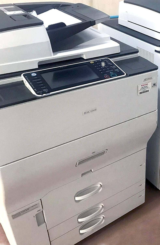 Ricoh Aficio MP C6502 Color Multifunction Copier 65ppm Scan Duplex 2 Trays and Tandem Tray Print ADF A3 Copy