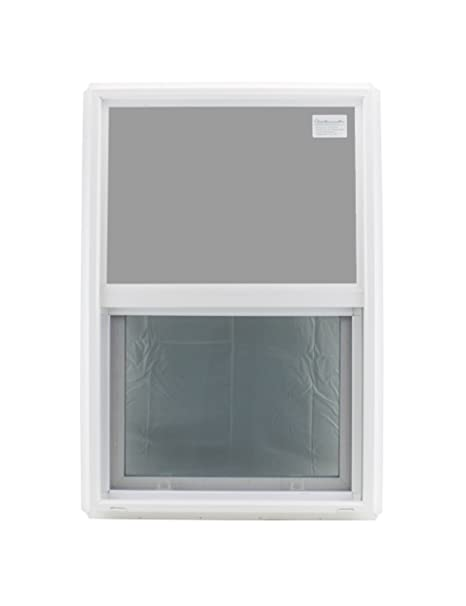 Window 24 X 36 Double Pane Tempered Glass Low E Pvc Frame Vertical