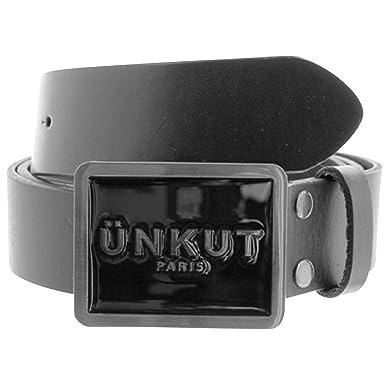 Unkut - Ceintures -Homme - Ceinture Unkut Ace Noir - L  Amazon.fr ... 011130e4153