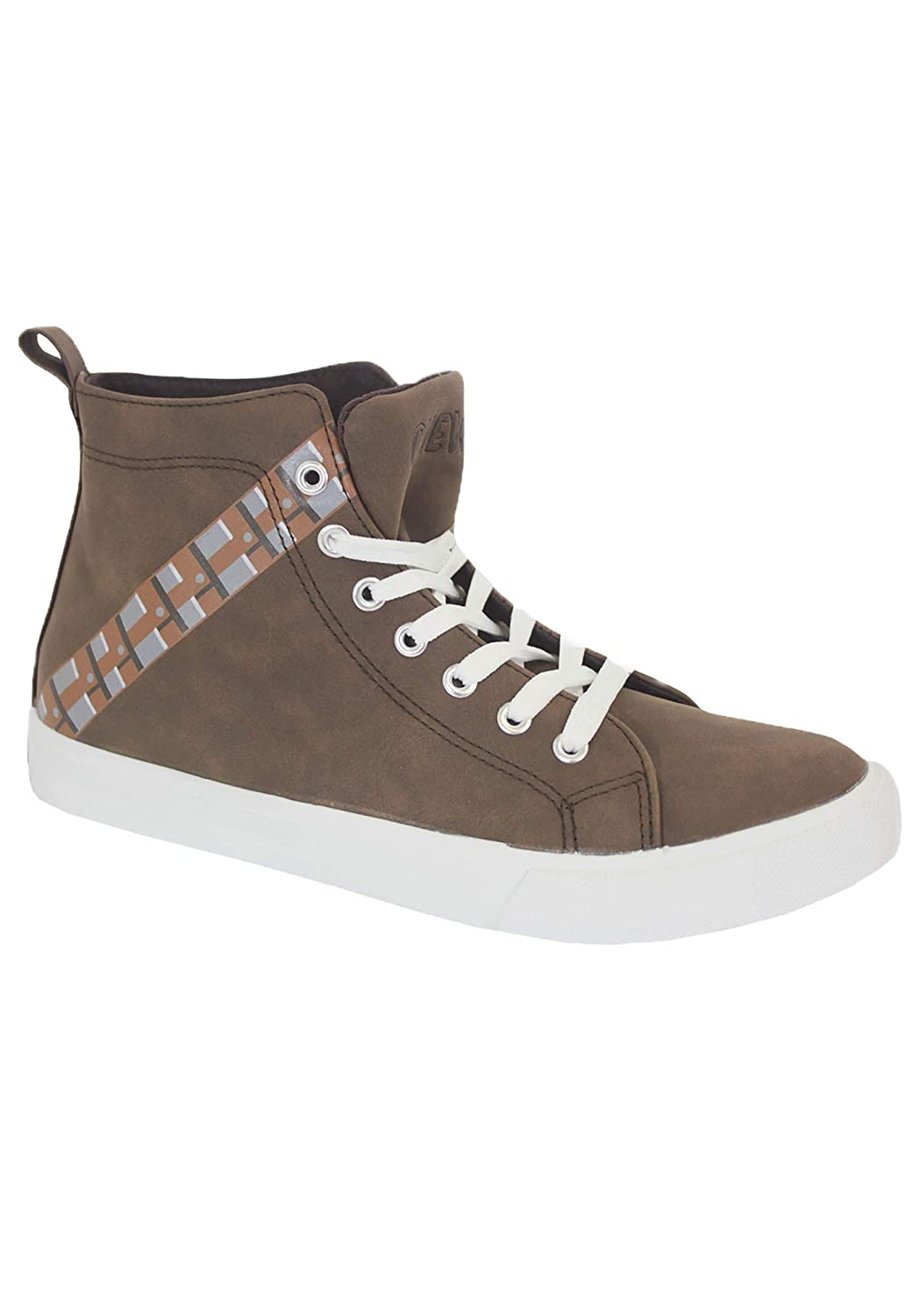 Star Wars Chewbacca Mens High Top Sneakers Size 11
