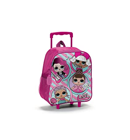 Lol Surprise Mochila Mini Trolley Guardería Escuela + regalo Bolígrafo + regalo marcapáginas