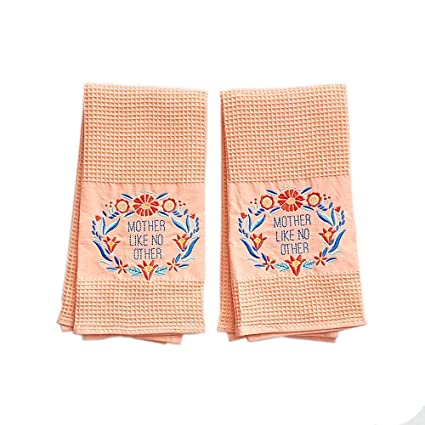 Paper Source - Juego de toallas de gofre (2 unidades)