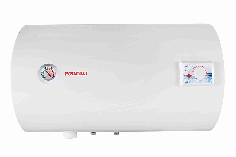 Termo de agua eléctrico 100 Litros Horizontal FORCALI Serie SEDNA: Amazon.es: Bricolaje y herramientas