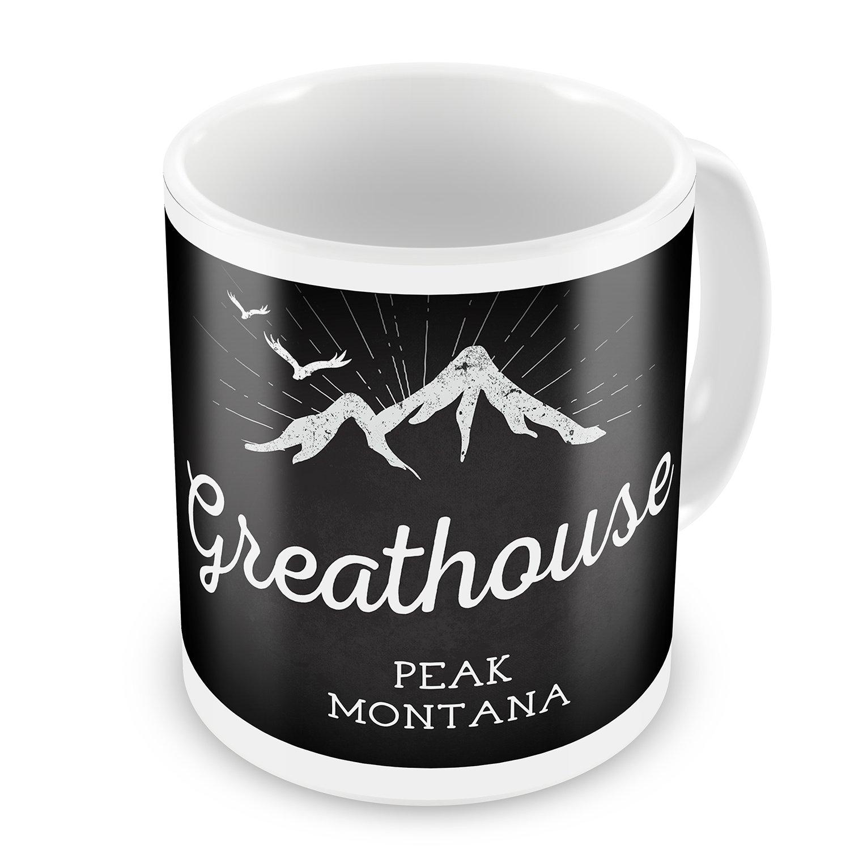 Magnificent Amazon Com Coffee Mug Mountains Chalkboard Greathouse Peak Interior Design Ideas Grebswwsoteloinfo
