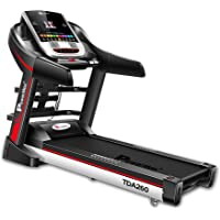 Powermax Fitness TDA-260 (2.0 HP) Multifunction, Auto Lubrication & 7inch TFT Touch Screen powered by Android OS Motorized Treadmill (Free Installation Service)