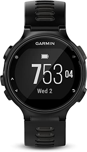 Garmin Forerunner 735XT, Multisport GPS Running Watch with Heart Rate, Black Gray