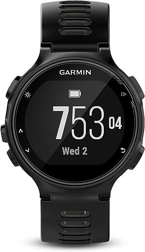 Garmin Forerunner 735XT, Multisport GPS Running Watch with Heart Rate, Black/Gray