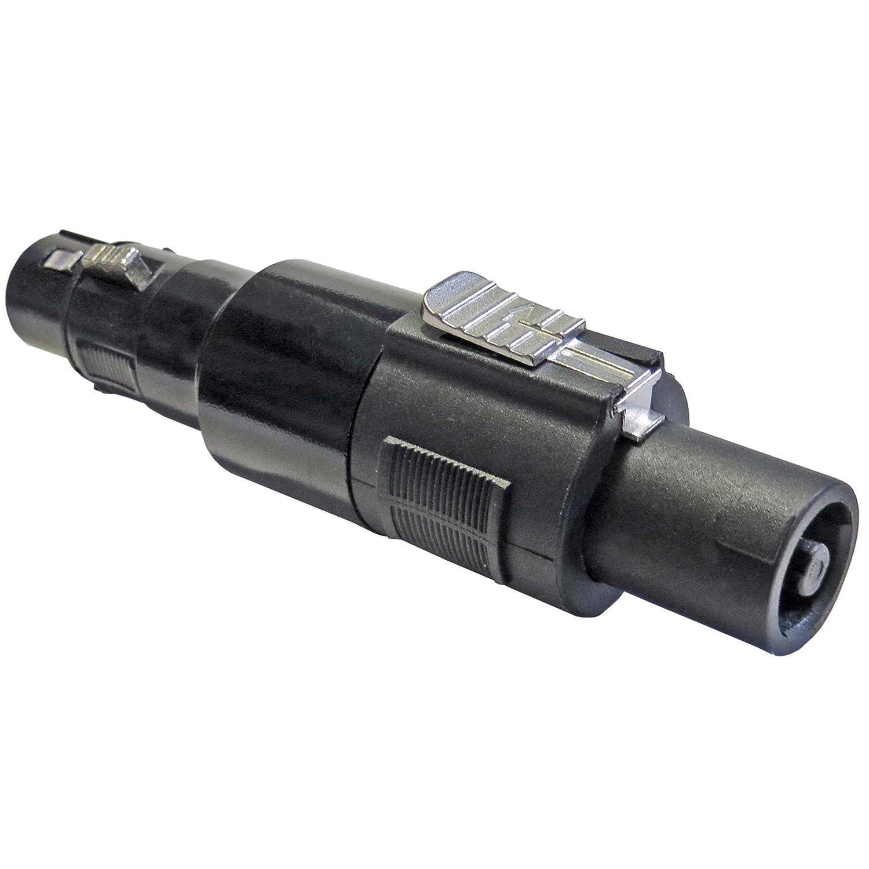 Keepdrum ada038Speakon de adaptador de conector XLR hembra de 3pines a conector speakon