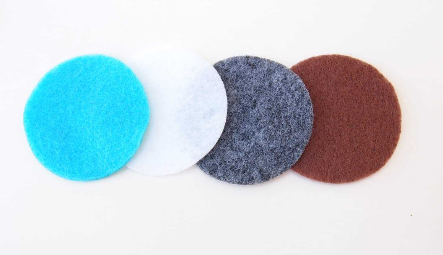 1 Inch - 100pc Playfully Ever After Lavender Craft Felt Circles