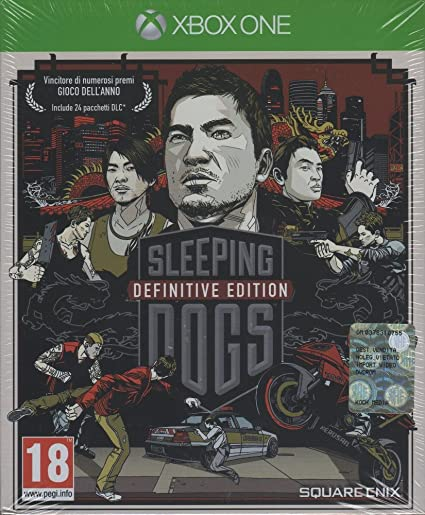 Square Enix Sleeping Dogs Definitive Edition, Xbox One Xbox One ...
