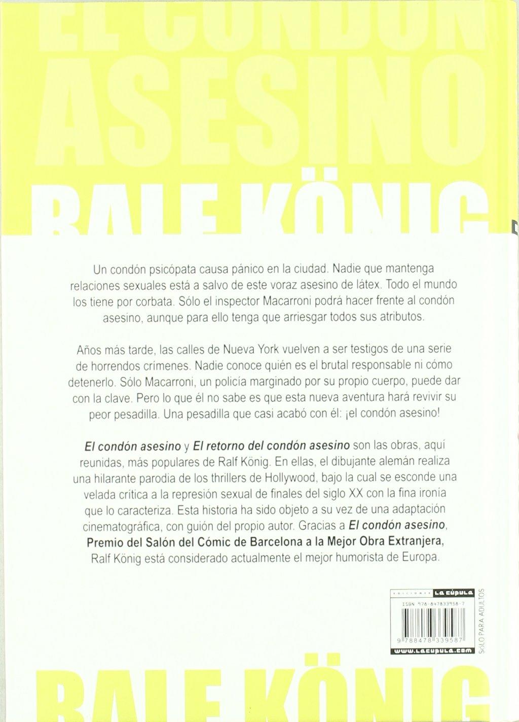 El condón asesino. Edición integral (Novela gráfica): Amazon.es ...