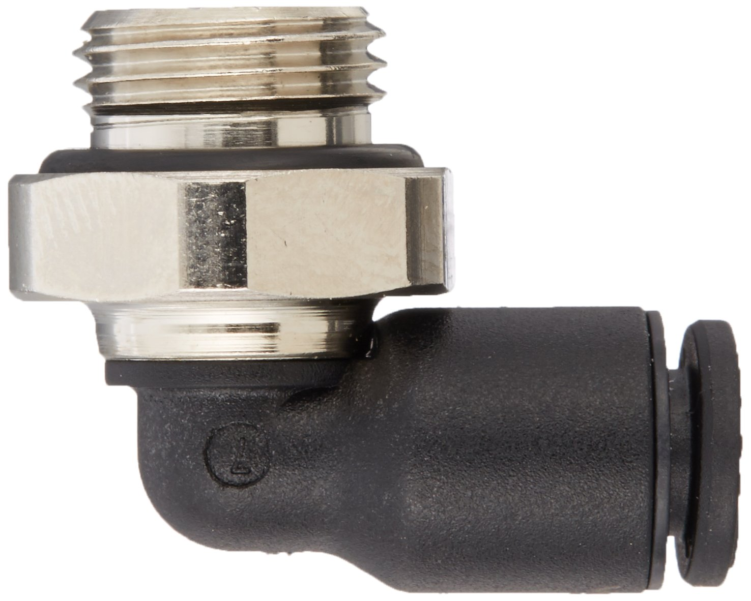 Legris 3199 08 21 Nylon /& Nickel-Plated Brass Push-to-Connect Fitting 5//16 or 8 mm Tube OD x 1//2 BSPP Male 5//16 or 8 mm Tube OD x 1//2 BSPP Male Parker Legris 90 Degree Elbow