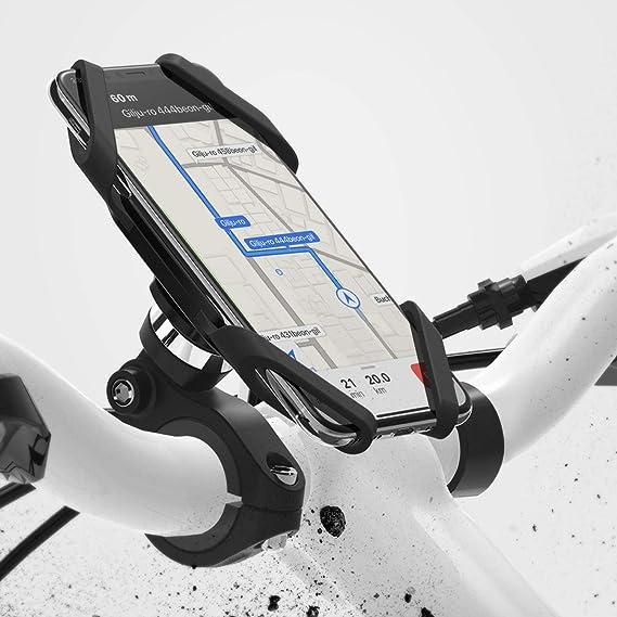 HUAWEI MATE 10 Soporte para teléfono de Manillar de Montaje para Bicicleta Bicicleta Grip de 360 °