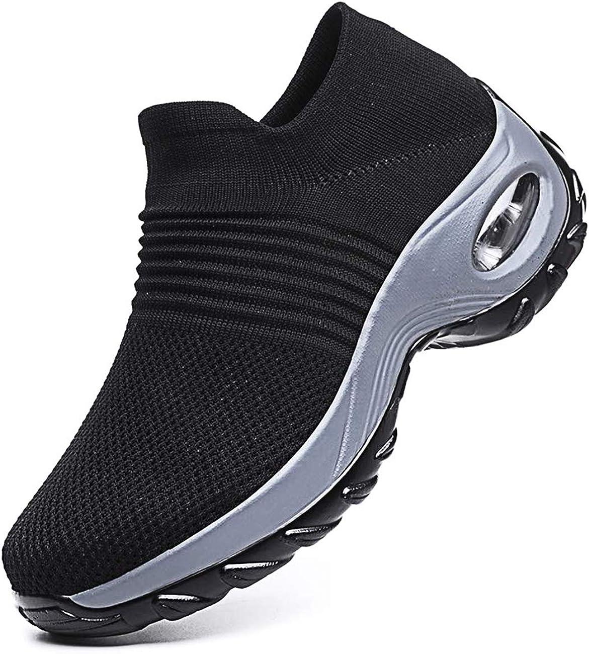 Mujer Ligero Malla para Casuales Running Zapatillas De Deporte Caminar Confortable Zapatos Plano Entrenadores: Amazon.es: Zapatos y complementos