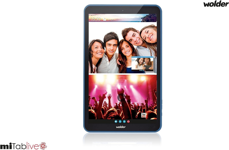 Wolder Mitab Live 8 GB Negro, Azul: Amazon.es: Informática