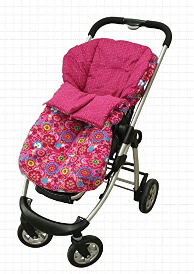 Amazon.com: Tuc Tuc Rosa carriola Bolsa de banderines ...