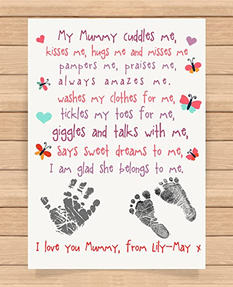 Personalised Mummy /& And Me Photo Frames Gifts Ideas For Mothers Mother/'s Day Mum Presents Christmas From Kids Children Son Daughter