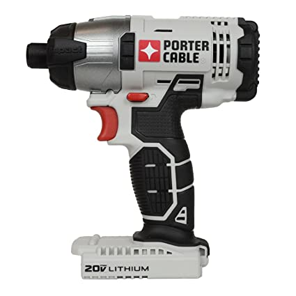 """porter cable 20v max lithium ion 1/4"""" hex impact driver (pcc641 bare ..."""