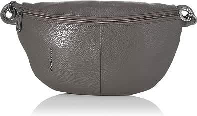 Mandarina Duck Mellow Leather Bum Bag, Bolsa de mensajero para Mujer, 30x16x10 centimeters (W x H x L)