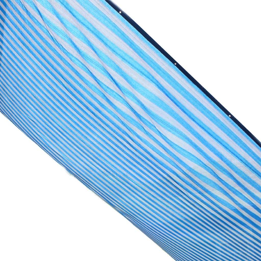 Camping Outdoor Zelte Schattennetz Gestreifter Balkonbeschattungsisolierung-Sonnenschutzesnetz 6 Stiftverschlüsselung ++ (größe   4X4M)