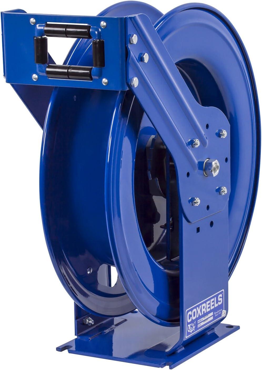 50 hose 300 PSI less hose Coxreels EZ-TSHL-450-BBX Safety Series Spring Rewind Hose Reel for DEF applications: 1//2 I.D.