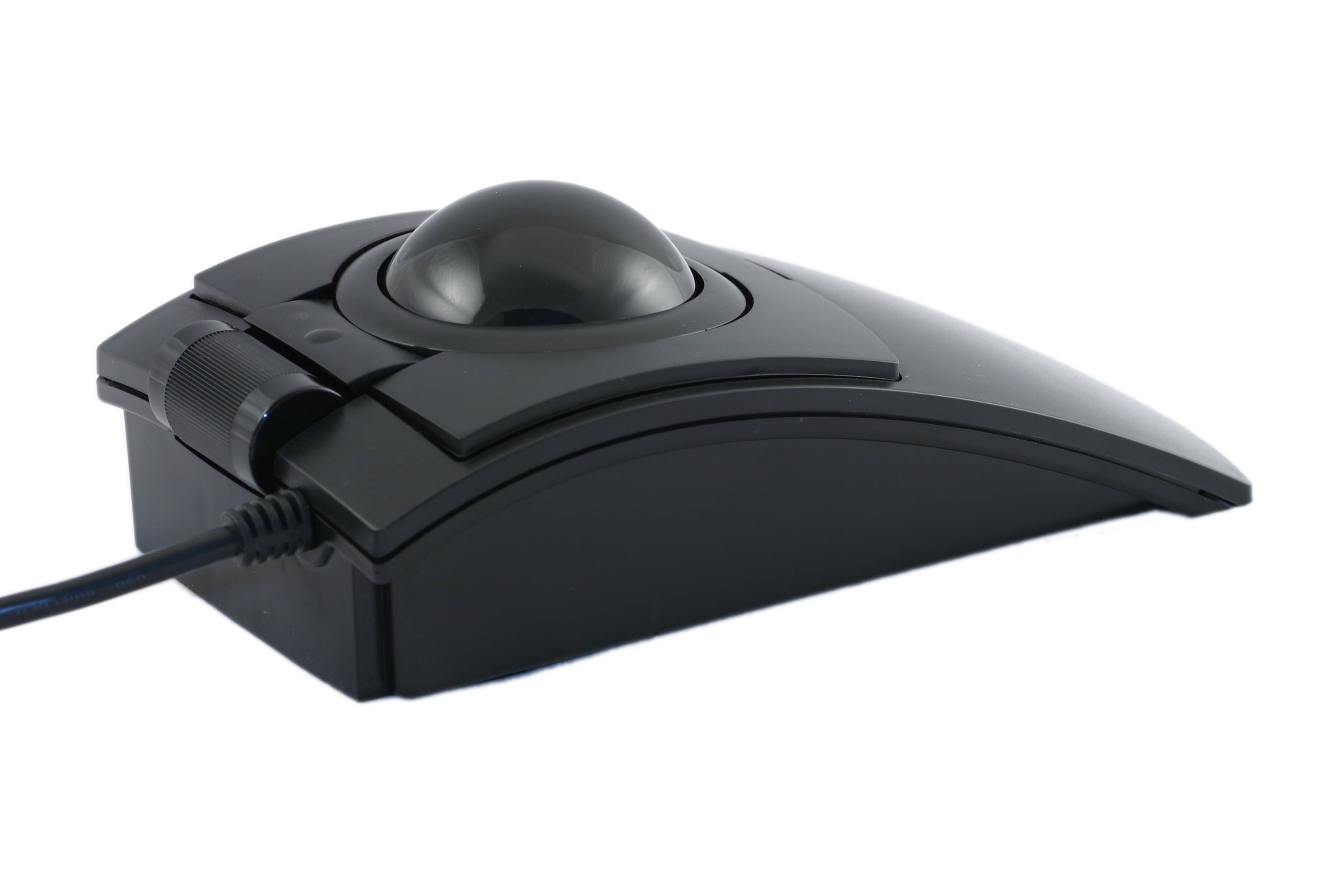 CST2545W (L-TRAC) USB Wired High Performance Trackball, Black - Made in the USA