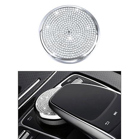 1797 Mercedes Accessories Benz Parts Trim COMAND Knob Central Multimedia  Control Regulator Caps Covers Interior Visors Decorations W204 X204 W166  X166