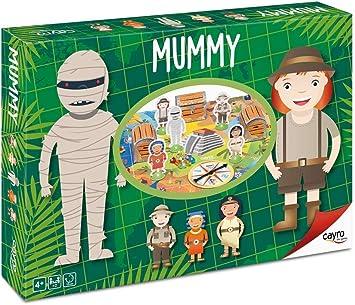 Cayro - Mummy - Juego de razonamiento y Habilidades matemáticas - Juego de Mesa - Desarrollo de Habilidades cognitivas y razonamiento lógico - Juego de Mesa (152): Amazon.es: Juguetes y juegos