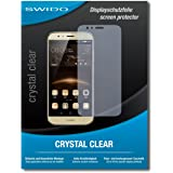 """4 x SWIDO® Protector de pantalla Huawei G8 Protectores de pantalla de película """"CrystalClear"""" invisible"""