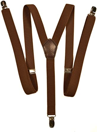Skinny Classic Style fully adjustable X-Shape Clip on Braces 2cm Suspenders