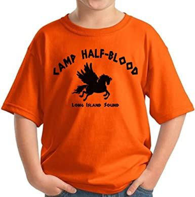 6 sizes demigod shirt Percy Jackson Olympians Camp half blood Women Girl Tshirt