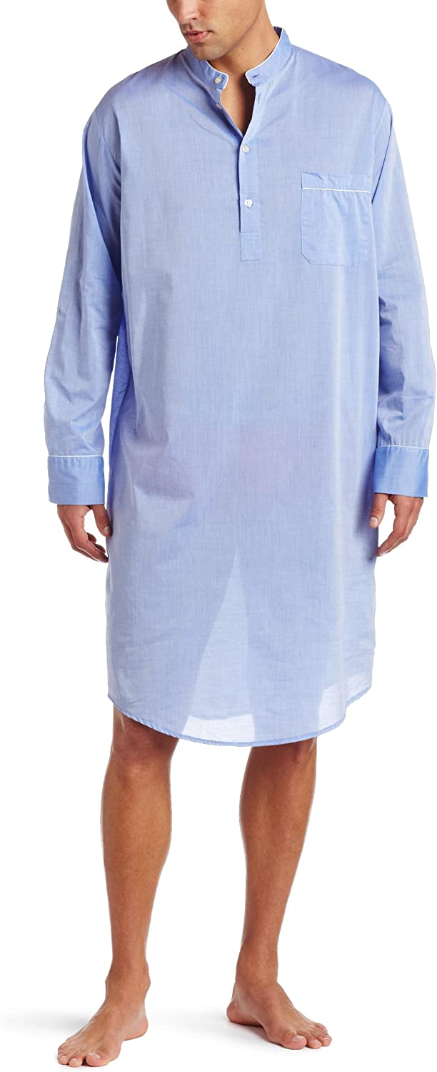 Derek Rose Men's Amalfi Nightshirt