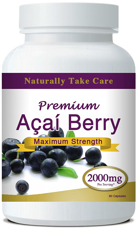 Pérdida Prima Acai Berry Peso Cápsulas Mejor adelgaza 2000mg Nueva Doble Fuerza Fórmula: Amazon.es: Hogar
