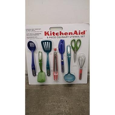 KitchenAid Nonstick Tools, 8-Piece Set Multi