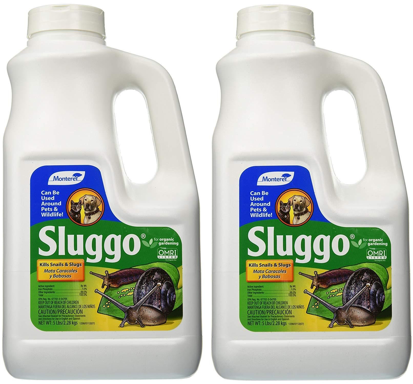 Sluggo Snail & Snail Bait 5 Lb. by Monteray (Image #1)