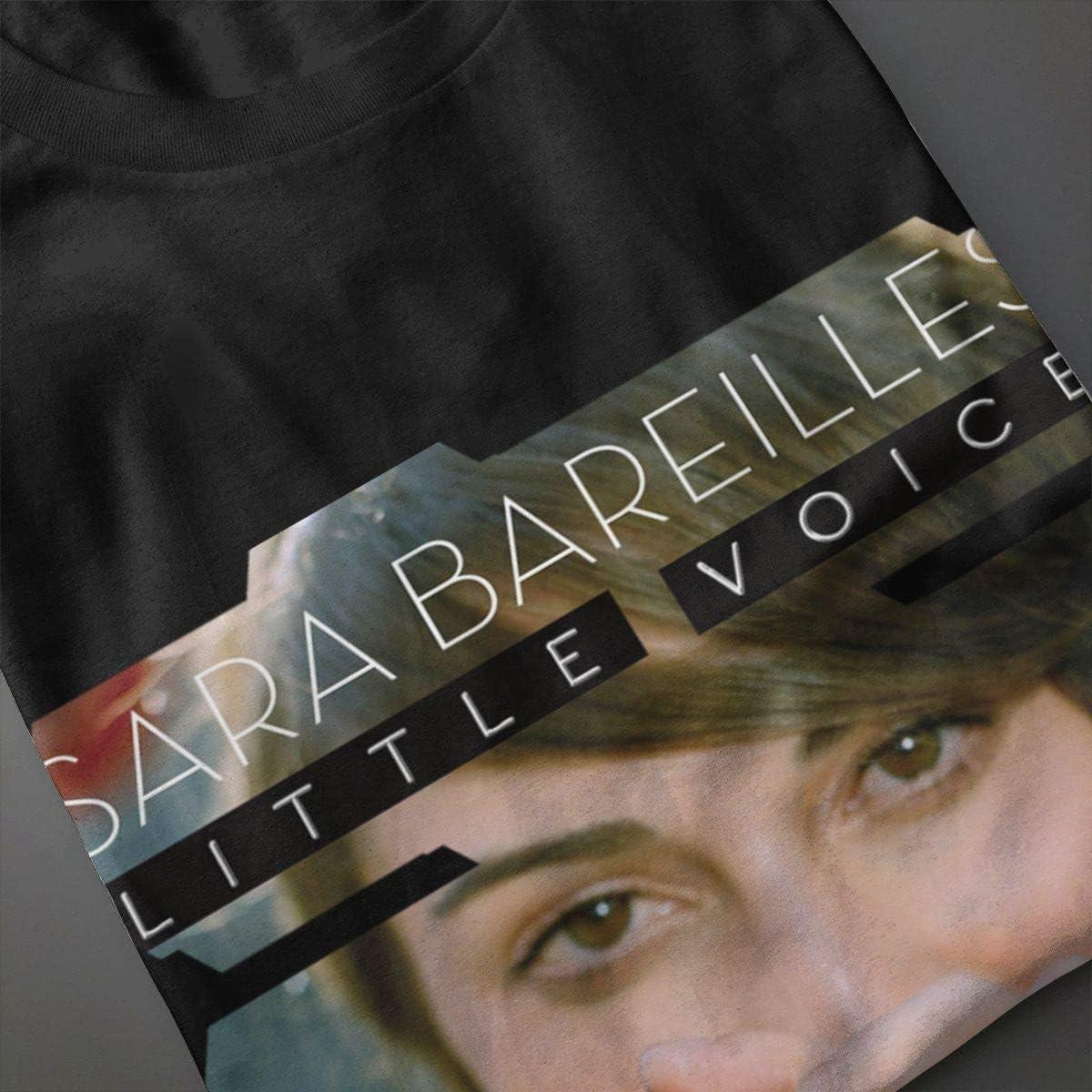JXSRS SRTS Womens Sara Bareilles T Shirts Short Sleeve Tee Shirt Black