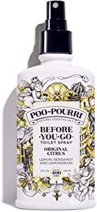 Poo-Pourri Before-You-go Toilet Spray, Original Citrus Scent, 8 Fl Oz