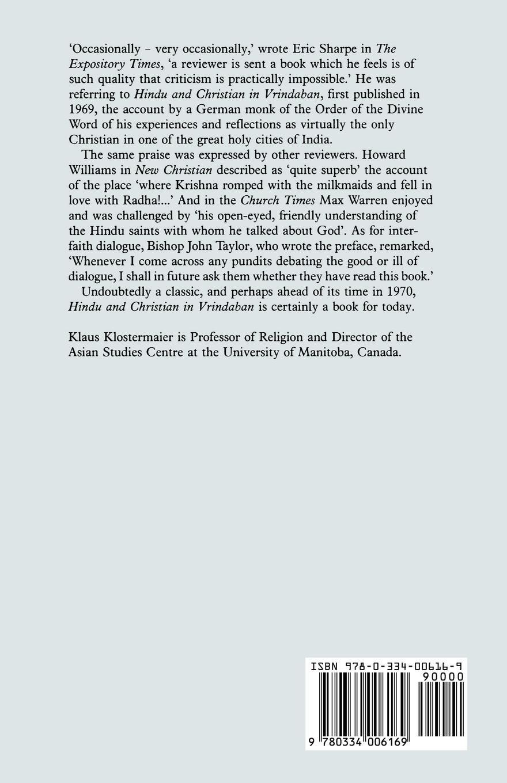 Hindu and christian in vrindaban klaus klostermaier antonia hindu and christian in vrindaban klaus klostermaier antonia fonseca 9780334006169 amazon books fandeluxe Images