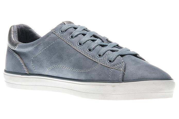 Mustang Damen 1267-301-875 Sneaker, Blau (Sky 875), 39 EU
