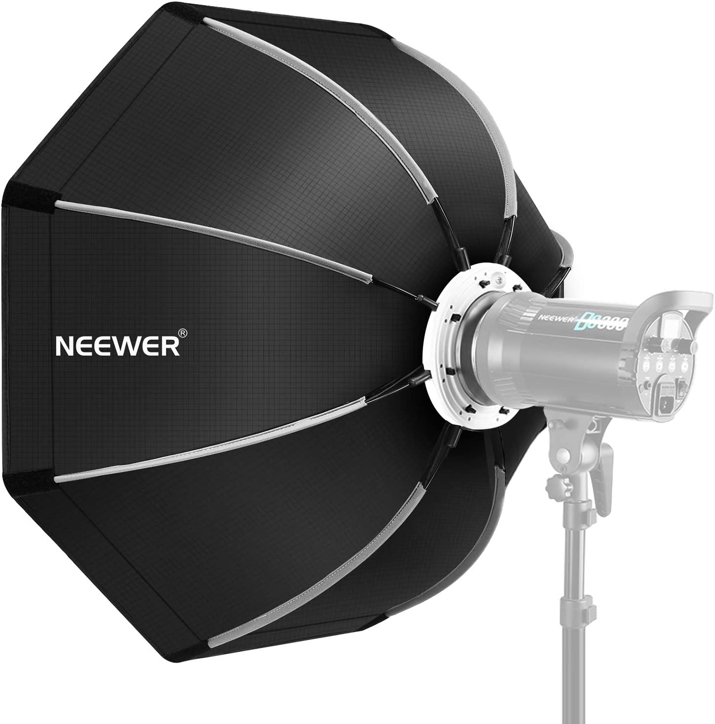 Neewer 35.4 inches/90 Centimeters Foldable Octagonal Softbox with Bowens Mount Speedring, Carrying Case for Speedlite Studio Flash Monolight,Portrait and Product Photography